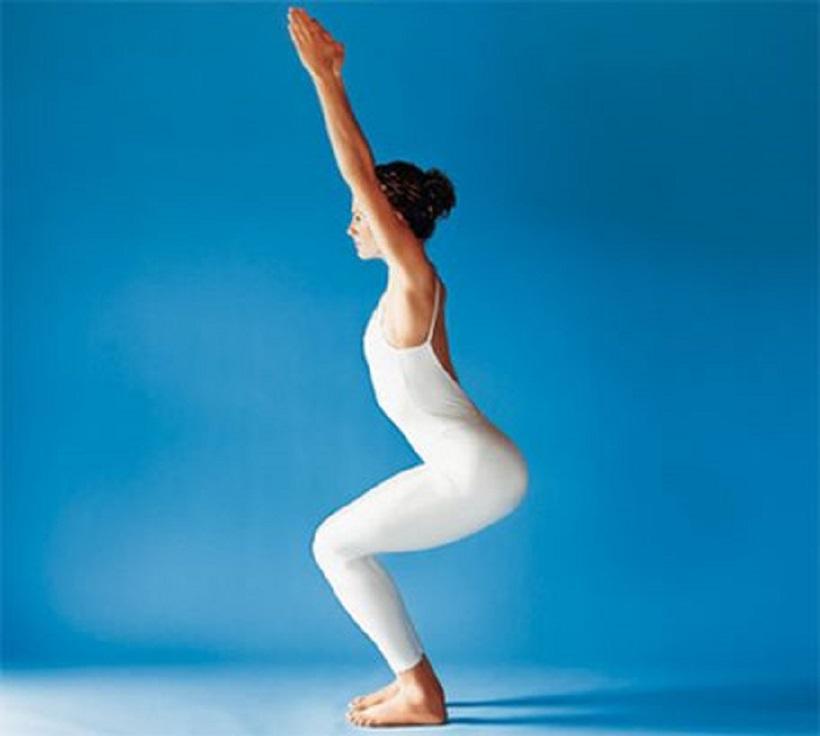 Йогические позы для похудения